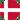 Danish flag, round