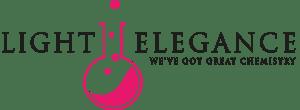 Light Elegance LEL LOGO black pink